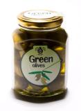 Премиум Зеленые оливки Халкидики в МАСЛЕ