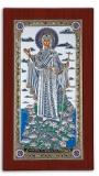 EK57-019XAG. Икона Silver Axion. 150х255, Богородица Святой Горы Афон, Ростовая, шт