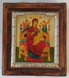 """Икона """"ВИЗАНТИКОС"""", ~80-90, Полуоклад № 2, Всецарица, шт"""