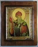 """Икона """"ВИЗАНТИКОС"""", ~175-205, Полуоклад № 4, Спиридон, шт"""