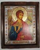 """Икона """"ВИЗАНТИКОС"""", ~210-250, Полуоклад № 5, Ангел Хранитель, шт"""