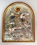 EP3-010PAG/P, Икона Afon Silver, 85-105, Георгий Победоносец, шт
