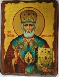 Икона под старину, 125-165, Николай, шт
