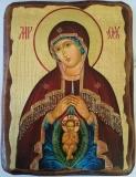 Икона под старину, 125-165, Помощница в Родах, шт