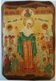 Икона под старину, 70-100, Всех Скорбящий Радости, шт
