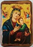 Икона под старину, 70-100, Неустанной Помощи, шт