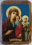Икона под старину, 70-100, Оковецкая, шт