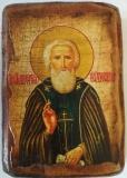 Икона под старину, 70-100, Сергий, шт