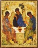 EX2-135PO, Икона Mega Byzantine. 112x141. Троица